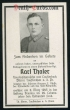 orig. WW2 Death Card - Flak Artillerie - Endfight Fortress Breslau 1945
