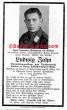 orig. WW2 Death Card - Paratrooper - at his 18.birthday - Endfight