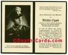 orig. WW2 Death Card - Officer - Battle of Stalingrad 1942