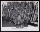 orig. WWII Press Photo - Skis for the front - collecting point Berlin